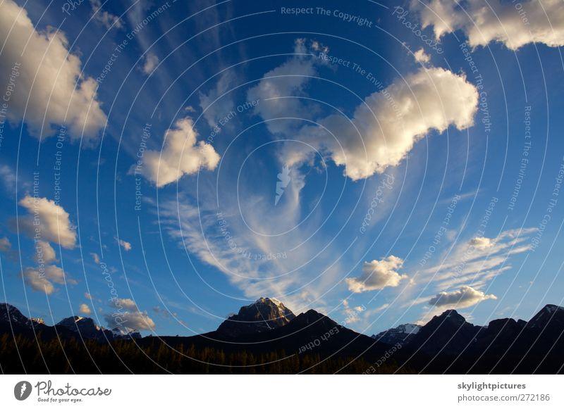 Himmel Natur blau schön Sommer Wolken schwarz Umwelt Landschaft Schnee Berge u. Gebirge See Eis Frost Gipfel Aussicht