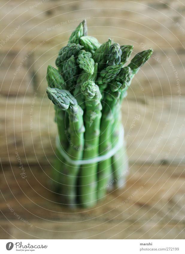 grün grün grün sind... Lebensmittel Gemüse Ernährung Bioprodukte Vegetarische Ernährung Diät frisch Gesundheit Spargel Spargelzeit Spargelkopf Bündel