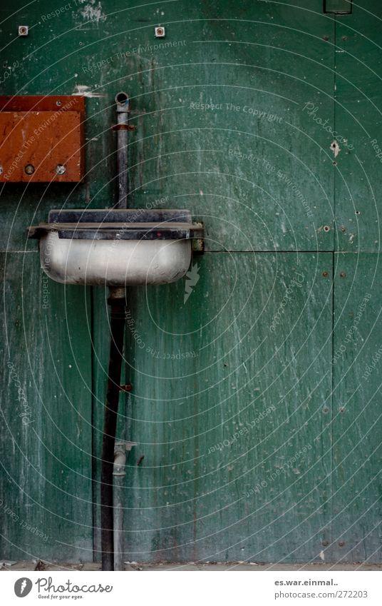 spritzig alt Wassertropfen Sauberkeit Zweck Waschbecken Hände waschen