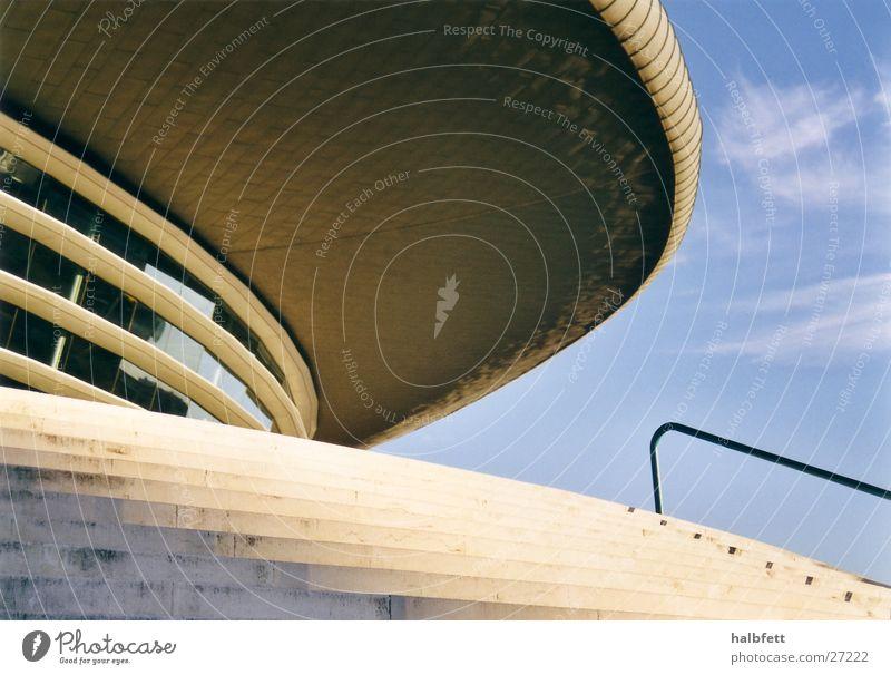Lissabon 01 Haus Architektur Zukunft rund Portugal Ausstellung Weltausstellung