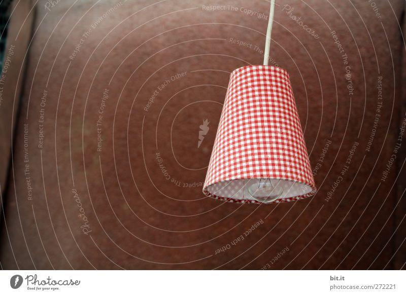 rusticale lampione rot Wand Beleuchtung Mauer Lifestyle Feste & Feiern Lampe Fassade Wohnung Raum Häusliches Leben leuchten Geburtstag Technik & Technologie