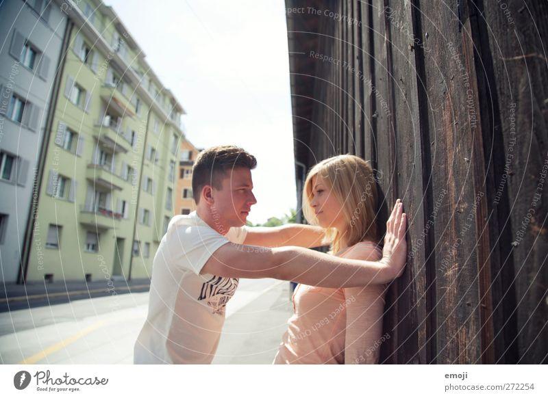 XXXY Mensch Jugendliche schön Erwachsene Paar Junge Frau Junger Mann 18-30 Jahre