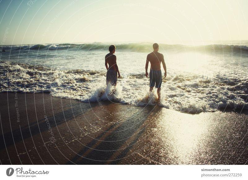 surfers paradies 2 Mensch Erholung Sonne Sonnenlicht Sonnenuntergang Sonnenstrahlen Sonnenaufgang Sonnenbad Schatten Meer Küste Meerwasser Wasser Wellen Licht