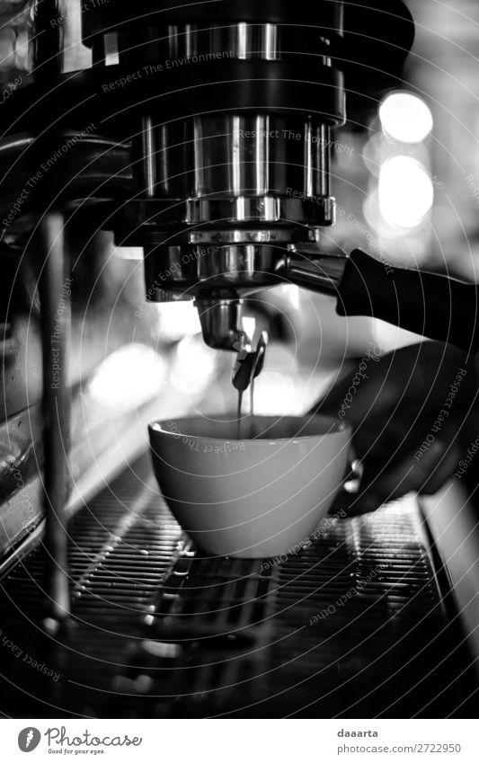 morgens Getränk Heißgetränk Kakao Kaffee Latte Macchiato Espresso Becher Lifestyle elegant Stil Design Freude Leben harmonisch Freizeit & Hobby Abenteuer