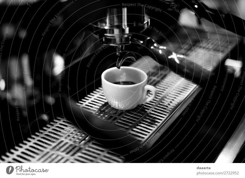 Morgenkaffee 16 Getränk Heißgetränk Kaffee Latte Macchiato Espresso Becher Kaffeepause Kaffeemaschine Kaffeetasse Café Kantine Lifestyle elegant Stil Freude