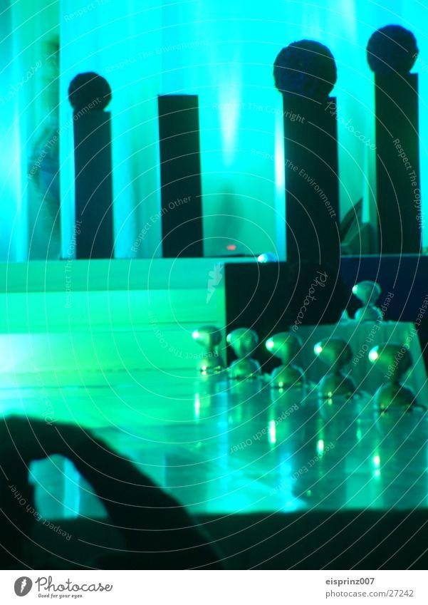 laufsteg mit kontrast Laufsteg Bühne Dekoration & Verzierung Langzeitbelichtung