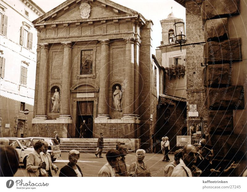 Sienna - Italien Religion & Glaube Europa Toskana Tourist Sepia Attraktion Siena