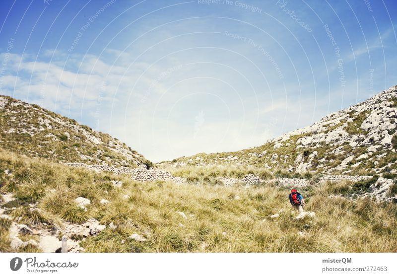1234 Steps. Natur Ferien & Urlaub & Reisen Himmel (Jenseits) Landschaft Ferne Reisefotografie Berge u. Gebirge gehen wandern ästhetisch Abenteuer Urelemente Sehnsucht Spanien Fernweh Sommerurlaub