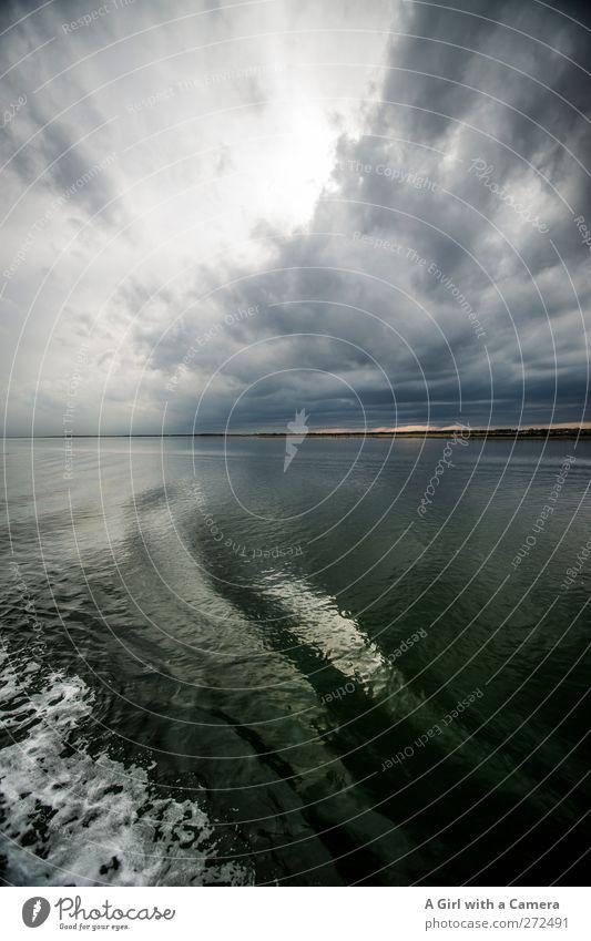 Hiddensee l altered images Umwelt Natur Landschaft Urelemente Wasser Himmel Wolken Gewitterwolken Horizont Frühling Sommer Klima Klimawandel Wetter