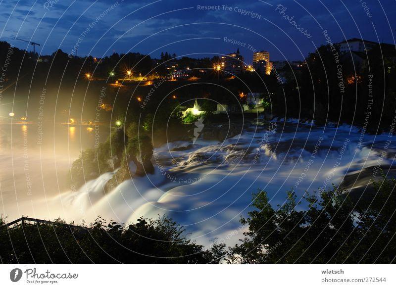 Sicht auf den Wasserfall Natur Wasser Ferien & Urlaub & Reisen Stadt schön Landschaft Stein Felsen wandern Tourismus Ausflug Europa Fluss Aussicht Dorf Schweiz