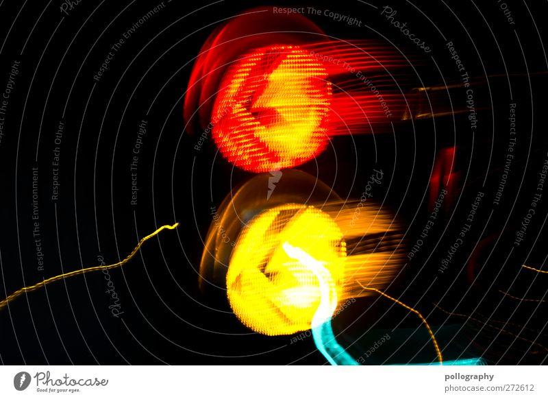 rush hour grün rot gelb Bewegung Wege & Pfade Geschwindigkeit Verkehr Pfeil Richtung Autofahren Ampel Irritation Straßenverkehr Straßenkreuzung Verkehrsstau