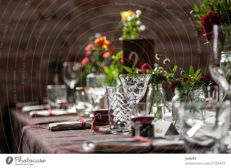 Zu Tisch, bitte! Lifestyle Stil Restaurant Feste & Feiern Essen trinken Hochzeit Geburtstag Trauerfeier Beerdigung Glas elegant Freizeit & Hobby Freude