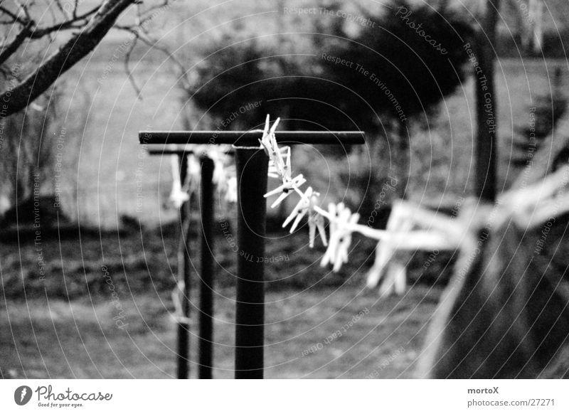 Wäscheleine Schnur Freizeit & Hobby Seil festhalten Außenaufnahme