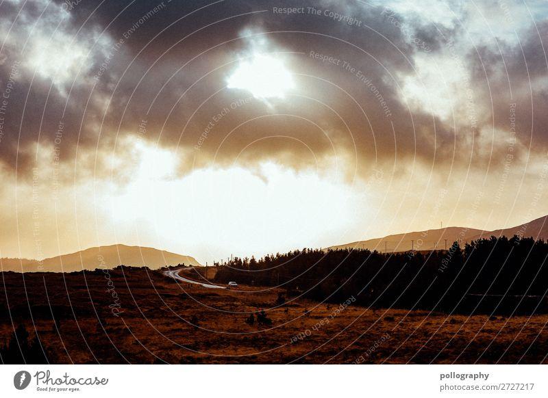 Clouds Himmel Ferien & Urlaub & Reisen Natur Landschaft Baum Wolken Ferne Berge u. Gebirge Herbst gelb Umwelt natürlich Tourismus Freiheit braun Ausflug