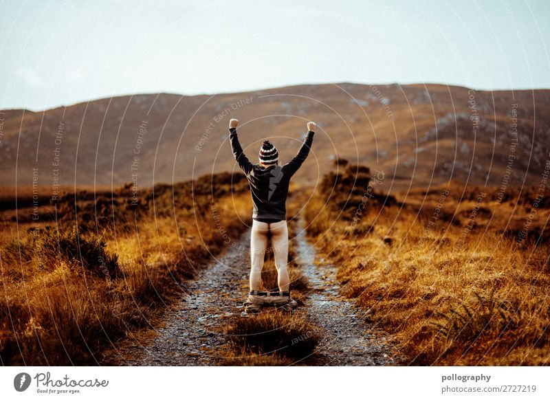 Ass Lifestyle Stil Freizeit & Hobby Ausflug Abenteuer Ferne Freiheit maskulin Mann Erwachsene Gesäß 1 Mensch Natur Landschaft Erde Wolkenloser Himmel Herbst