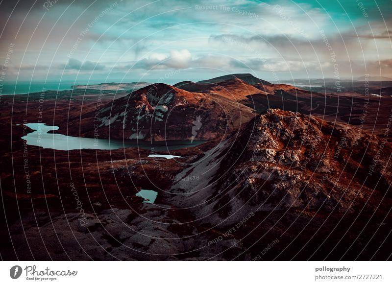 view Himmel Ferien & Urlaub & Reisen Natur blau schön Landschaft Wolken Ferne Berge u. Gebirge Herbst Umwelt natürlich Tourismus Freiheit braun Ausflug