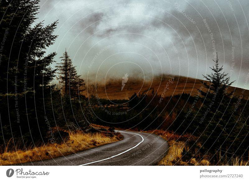 nature Himmel Ferien & Urlaub & Reisen Natur Landschaft Wolken Ferne Berge u. Gebirge dunkel Leben Herbst Umwelt kalt natürlich Gefühle Tourismus Freiheit