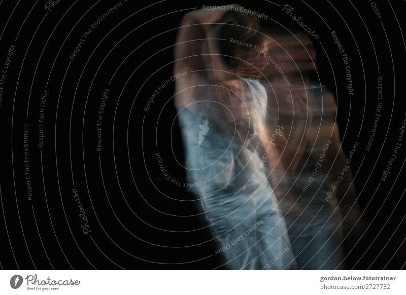 Bewegung Lifestyle elegant Glück harmonisch Musik Club Disco Tanzen Fitness Sport-Training Kunst Künstler Bühne Tänzer Balletttänzer berühren Erholung