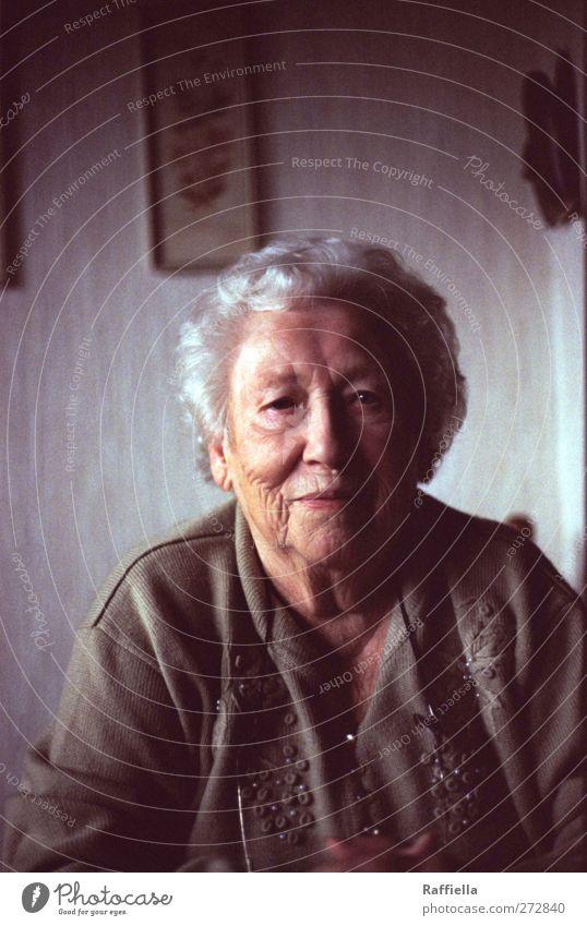 Happy Birthday Mensch Frau alt Erwachsene Gesicht feminin Wärme Senior Haare & Frisuren Kopf braun Fröhlichkeit beobachten Lächeln Hautfalten 60 und älter