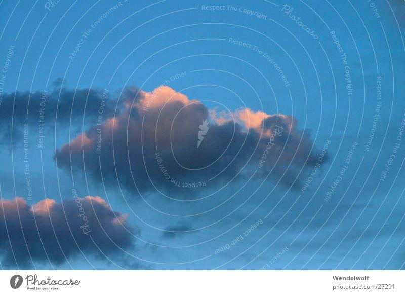 Wolkenschaaf Himmel blau Wolken Farbe träumen Freizeit & Hobby