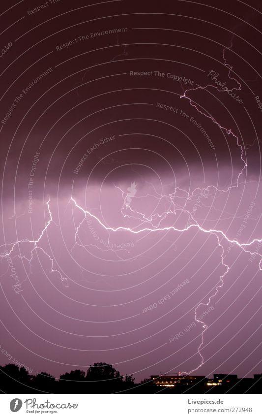 Flash, ahaaaaaa 2 weiß Sommer schwarz Regen außergewöhnlich bedrohlich violett Unwetter Blitze Gewitter Aggression