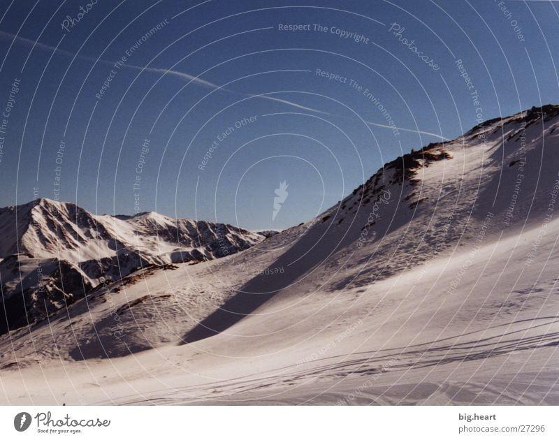 Winteralpen I Wolken Berge u. Gebirge Alpen Schnee Himmel Sonne