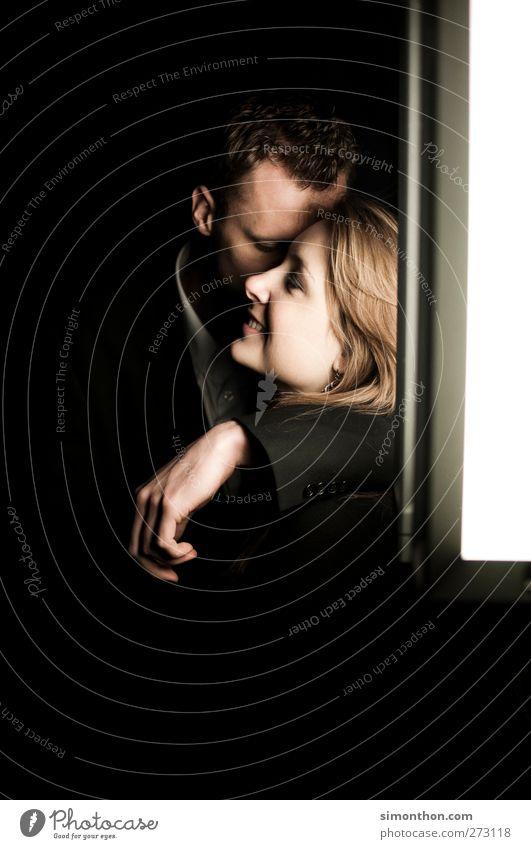 liebespaar Mensch Freude ruhig Liebe feminin Leben Gefühle Glück träumen Stimmung Zufriedenheit Fröhlichkeit Kommunizieren Wunsch Vergänglichkeit Kontakt