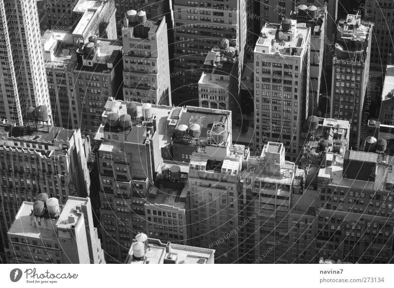 Rocky 1 Haus oben grau Gebäude Hochhaus Häusliches Leben Dach New York City Zisterne