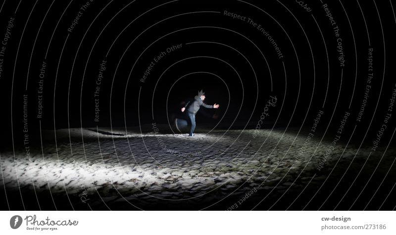 Hiddensee | 750 kleine Schritte Mensch Mann Jugendliche Strand Erwachsene Landschaft Bewegung Freiheit Küste laufen einzeln rennen Flucht Eile unterwegs
