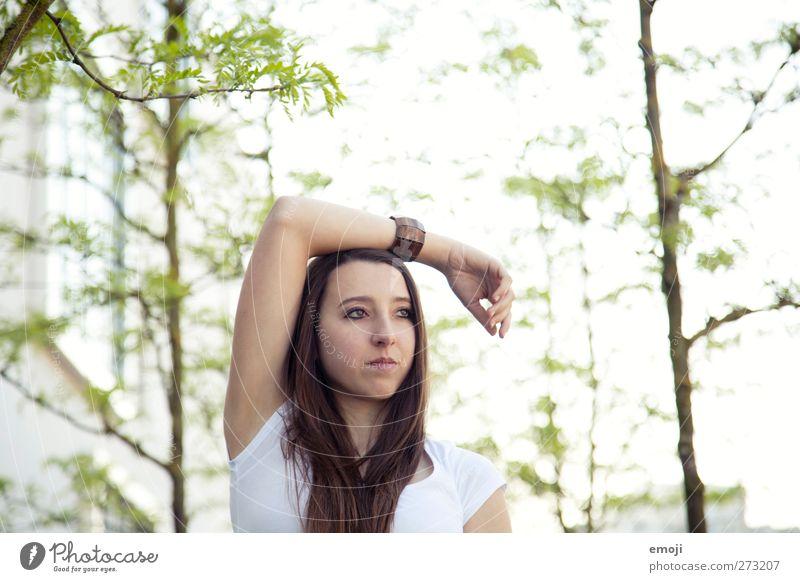 greenpeace Mensch Jugendliche grün Baum feminin Frühling Junge Frau natürlich