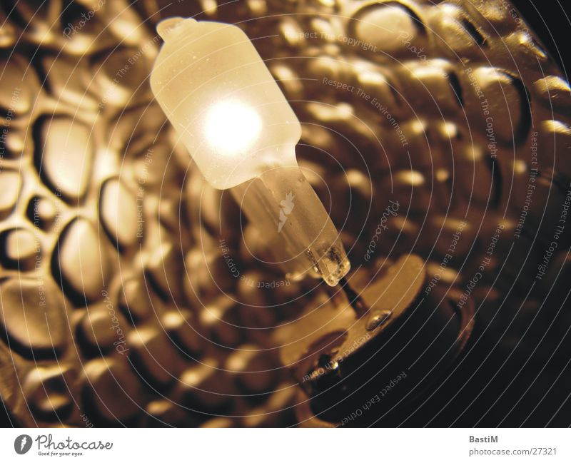 Lichtblick Lampe Design elektronisch Elektrizität Makroaufnahme Nahaufnahme Wärme Technik & Technologie Metall