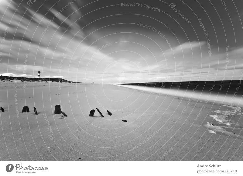 30 Sekunden Sylt Ferien & Urlaub & Reisen Ausflug Ferne Sommer Landschaft Sand Wasser Wolken Wellen Nordsee Gefühle Stimmung bizarr Kunst skurril Insel