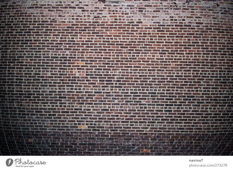 Mauer alt rot Wand Mauer Stein braun Fassade Backsteinwand