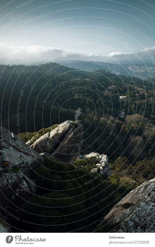 feine Aussichten Ferien & Urlaub & Reisen Ausflug Abenteuer Ferne Freiheit Umwelt Natur Landschaft Himmel Wolken Horizont Schönes Wetter Felsen Berge u. Gebirge