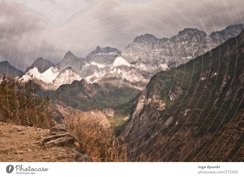 Tigersprung Natur Pflanze Winter Umwelt Landschaft dunkel Berge u. Gebirge Erde Wetter Felsen Reisefotografie Wind Angst Klima außergewöhnlich Abenteuer