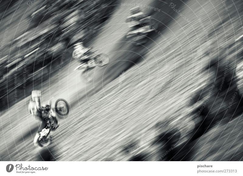 Speedgang Geschwindigkeit fahren Motorrad Sportveranstaltung rebellisch Motorsport Motocrossmotorrad