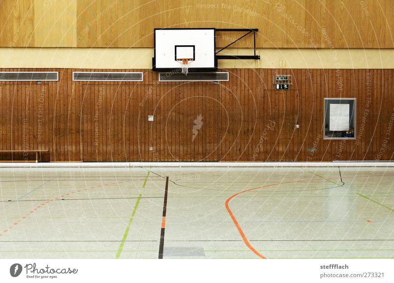 Lasst die Spiele beginnen Sport Fitness Sport-Training Ballsport Sportveranstaltung Sportstätten Spielplatz Mauer Wand kämpfen laufen rennen seilhüpfen springen