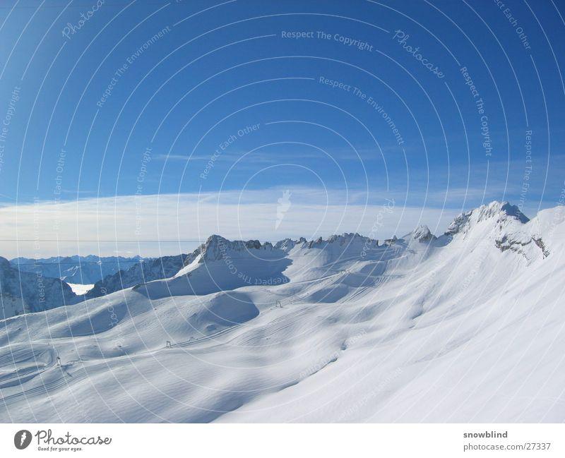 Wetterwandeck Winter Panorama (Aussicht) Berge u. Gebirge Schnee Himmel groß