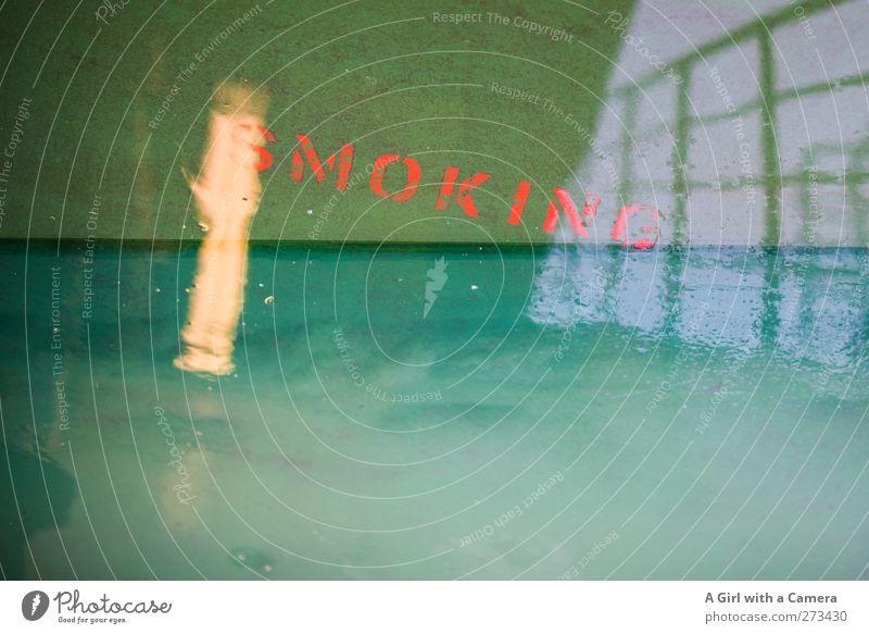 .... grün außergewöhnlich nass Bodenbelag einfach Tabakwaren Schifffahrt Doppelbelichtung Fähre Kreuzfahrt Lichtpunkt Reling Passagierschiff An Bord