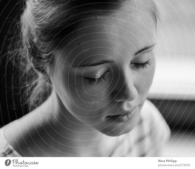 show me your inner vision Haare & Frisuren Haut Gesicht Wimperntusche harmonisch Wohlgefühl Sinnesorgane Erholung ruhig Meditation Mensch maskulin Junge Frau