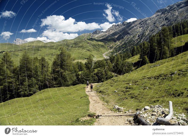 Wanderkatalogbild Gesundheit Leben Wohlgefühl Erholung ruhig Ferien & Urlaub & Reisen Tourismus Ausflug Abenteuer Ferne Freiheit wandern Mensch 2 Umwelt Natur