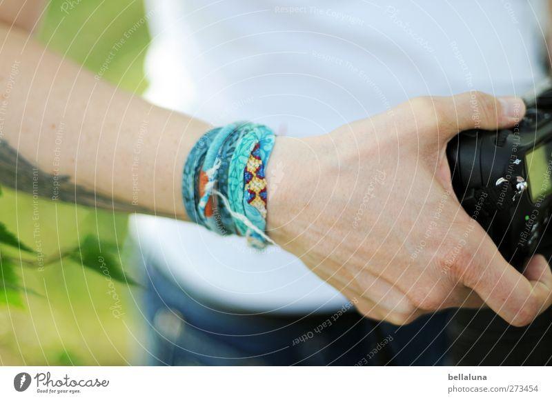 Hiddensee | Wolfgang-Petry-Gedächtnisbänder Stil Design Haut Mensch feminin Junge Frau Jugendliche Erwachsene Leben Körper Arme Hand 1 18-30 Jahre Natur Baum
