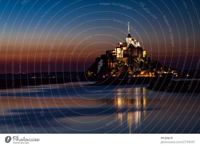 Fernweh | unwirklich schön Ferien & Urlaub & Reisen Tourismus Ausflug Sightseeing Städtereise Nachthimmel Sonnenaufgang Sonnenuntergang Meer