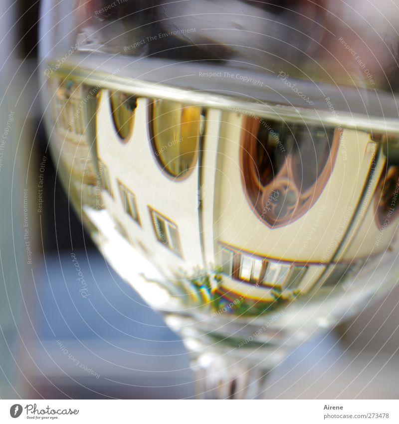 Sightseeing weiß Stadt Sommer Freude Haus Erholung gelb Architektur Glas Glas Fassade Freizeit & Hobby Getränk trinken Wein Bauwerk