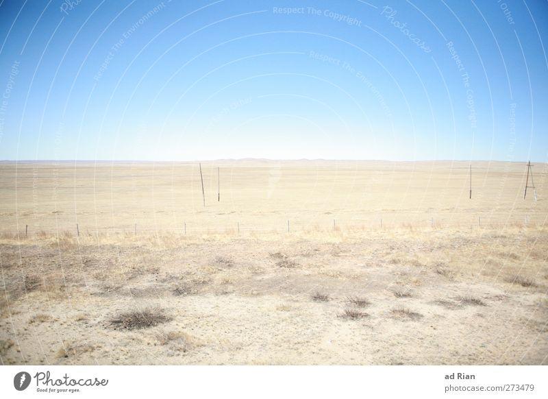 weite Weite Himmel Natur Landschaft Wärme Horizont Erde natürlich glänzend trist Schönes Wetter Wüste Unendlichkeit trocken Wolkenloser Himmel Dürre gigantisch