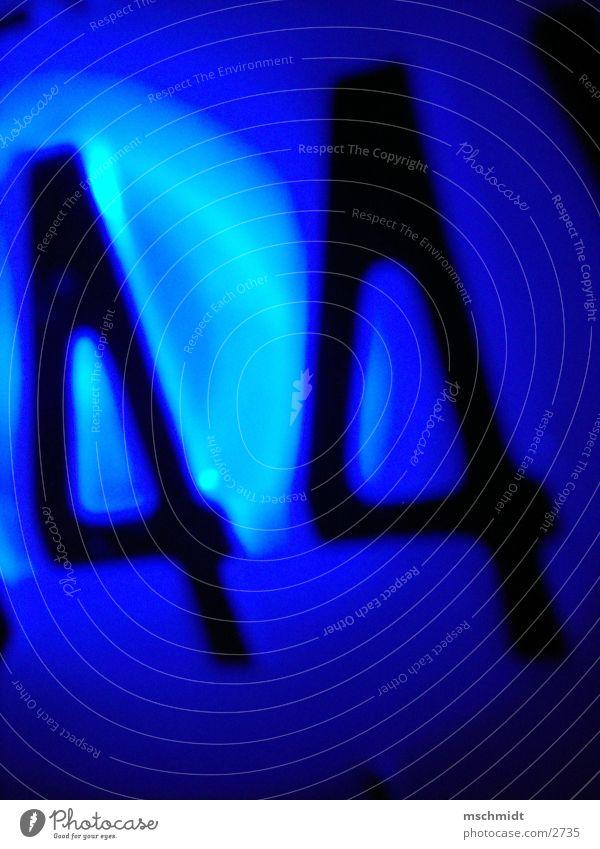 44 blau Ziffern & Zahlen Dinge Adjektive