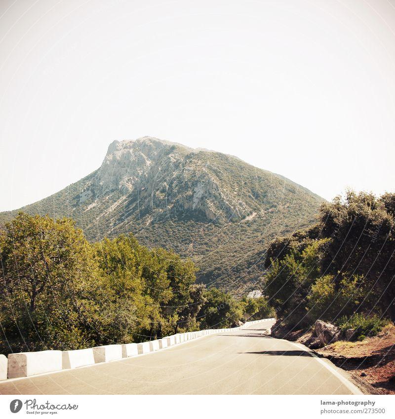 Sierra de Grazalema [LII] Natur Ferien & Urlaub & Reisen Landschaft Straße Berge u. Gebirge Felsen Abenteuer Gipfel Hügel Spanien Nationalpark Pass Andalusien Hochstraße Serpentinen Ronda
