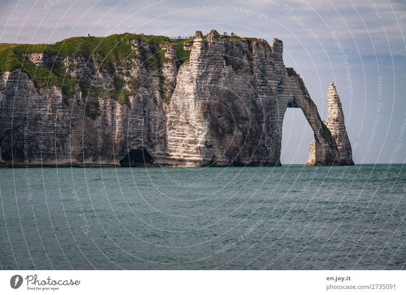 kein Durchkommen Ferien & Urlaub & Reisen Tourismus Ausflug Ferne Sightseeing Sommer Sommerurlaub Meer Mensch Natur Landschaft Horizont Klima Klimawandel
