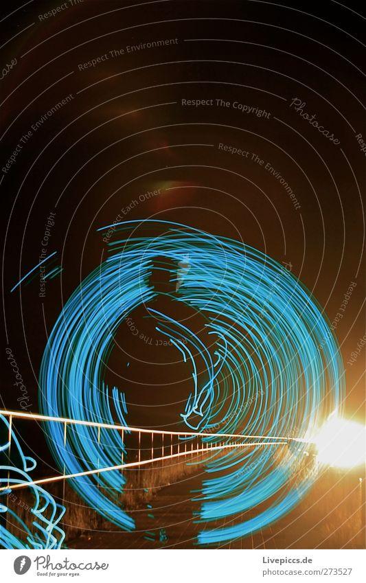 BLAU AM KANAL Mensch maskulin Mann Erwachsene Körper 1 Kunst Künstler Maler Verkehr Verkehrswege Personenverkehr Straßenverkehr Autofahren Fußgänger