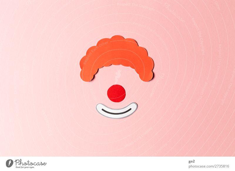 Clown Freizeit & Hobby Basteln Feste & Feiern Karneval Papier Dekoration & Verzierung Fröhlichkeit Freude Vorfreude Begeisterung verkleiden Karnevalskostüm